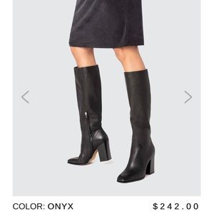 Dolce Vita Kasidy Leather Knee High Boots